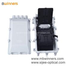 Caja de empalme de fibra óptica resistente al agua con acceso universal hasta 256 FO