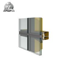 6065 aluminium alloy eliptic facade profile
