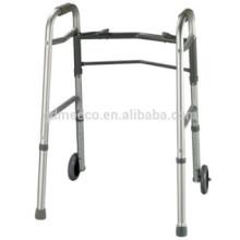 Aluminium-Faltwanderer mit Rädern für Erwachsene K002