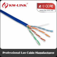 El mejor precio 4 pr 24AWG 0.50mm Utp cat5e cables OEM