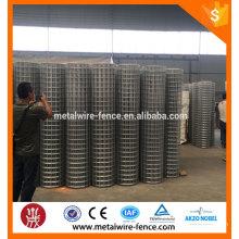 Emplazamiento galvanizado utilizado malla de alambre soldado