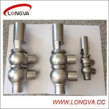 Вэньчжоу Санитарная Ss304 Пневматический Реверсивный Клапан