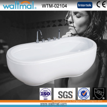 Peanut Shaped Cupc Approved Quality Acrylic Freestanding Bathtub