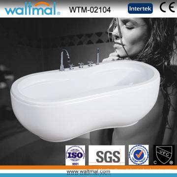 Erdnuss Cupc genehmigt Qualität Acryl freistehende Badewanne