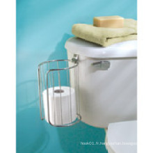 Interdesign Classico Over-The-Tank Papier hygiénique 2 Roll Holder