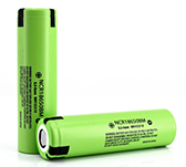 high powered flashlight battery panasonic ncr18650bm battery