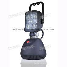 """3 """"12V 15W luz de trabalho recarregável do diodo emissor de luz"""