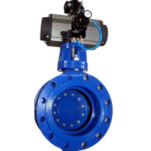 Flange End Double Eccentric Butterfly Valve