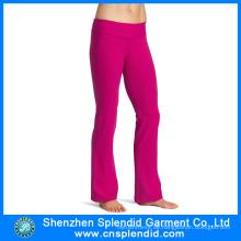 Kundenspezifische Großhandelsbunte Frauen-Gymnastik-reizvolle Yoga-Hosen