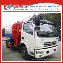 DFAC 2015 new condition self-loading and unloading garbage truck