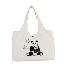 Симпатичная сумка-тоут с пандой, сумка через плечо, большие сумки