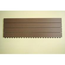 Panneau composé antidérapant de sauna de HDPE de tuile de plate-forme antidérapante