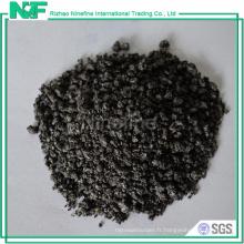 Production de coke de pétrole de graphite de type d'additif de fonderie de qualité