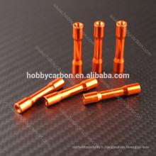 Hobbycarbon Fabrication de haute qualité Round Step Spacer étape standoff