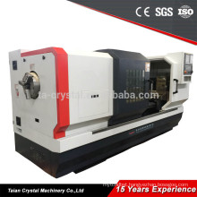 CNC turning drawing pipe threading lathe machine of parts QK1335