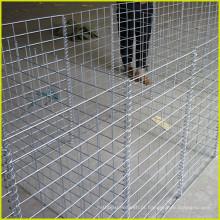2016 venda quente 50 * 50mm soldado Gabion Mesh / gaiola de pedra para o fornecedor de porão de parede de contenção