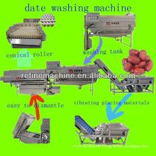 horizontal mixed flow washing machine/date washing machine