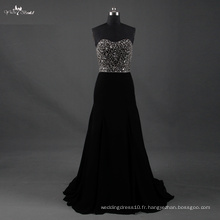 LZF003 Alibaba Sweetheart Hot Sale A Line Robe de mariée Robes de soirée en perles lourdes 2017