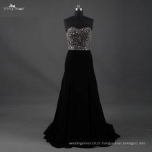 LZF003 Alibaba Sweetheart Hot Sale A Line Vestido de noiva Heavy Beading Evening Dresses 2017
