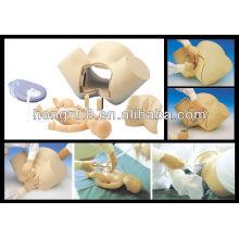 Modelo de simulador de parto de socorro médico
