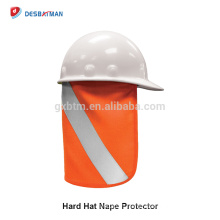 Top Quality Removable Sun Protective Outdoor Reflective Hard Hat Neck Shade Netting Hat New Hard Hat Shade for Wholesale