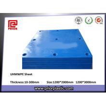 Placa excelente do plástico da resistência de desgaste UHMWPE