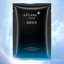 Men Oil-Control Men Facial Sheet Mask Vegan Plant Essence Hydrating Moisturizing Mask Skin Care
