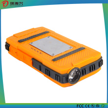 Outdoor IP65 Waterproof 1000mAh Power Bank with LED Light