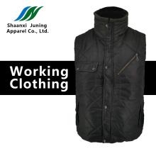 Cotton vest winter protection dark green