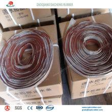 Cubierta hidráulica hidrofílica (hinchada) para muros de contención