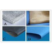 Fiberglass Thermal Insulation Cloth , High Strength / Tensile Strength