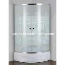 Coconut Tree High Tray Shower Room Cabin (E-03CT High tray)