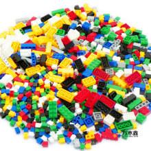 Kid's Educational Plastic 1000 PCS Bloques de construcción de juguete