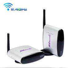 2,4 GHz Wireless AV Extender mit IR-Fernbedienung
