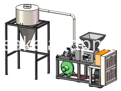 High Quality Plastic Recycling Dryer