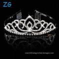 Crystal dance headpieces miss queen tiaras