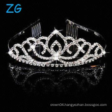 Crystal dance headpieces miss queen tiaras