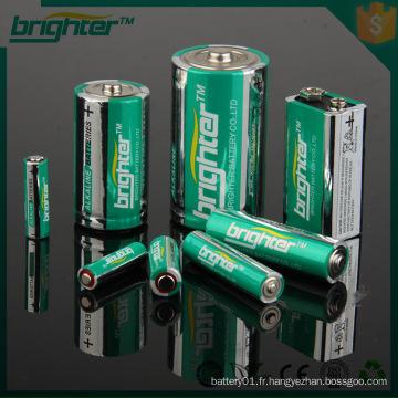 AA 1.5v batterie alcaline aa / lr6 / am3 1.5v alcaline aa boîtier de batterie