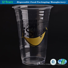 Transpartent Milkshake Plastic Cup with Good Quality