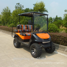Carro de golf eléctrico pesado fuera de carretera de 4 plazas con CE