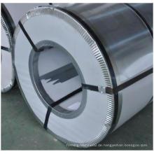 Farbbeschichtete (vorlackierte) galvanisierte Stahlspule
