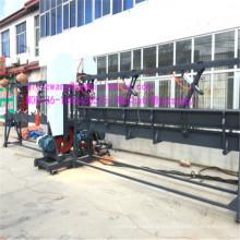 Máquina de serra de fita vertical dupla com corte duplo de lâminas giratórias