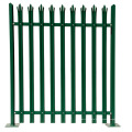 Factory Price Supply Galvanized Steel Palisade Fence Designs