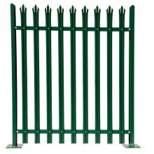 Neues Design Stahlrohrzaun Aluminium Palisade Zaun