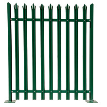 Steel Designs Galvanized Steel Second Hand Palisade Fencing