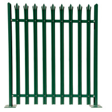 Esgrima em aço galvanizado de paliçada em aço galvanizado