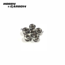M3X6.5mm aluminum press nut OEM cnc customized hobby model RC drone car
