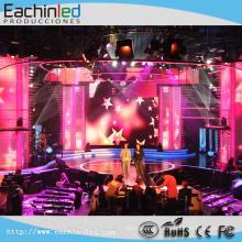Équipement de vidéo audio Alquiler P3.9 intérieur de pared LED de vidéo en clubes nocturnos