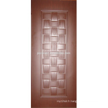 2015 nouveau design décoratif intérieur HDF melamine porte peau