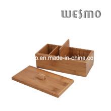 Caja de joyería de bambú (WCB0351A)